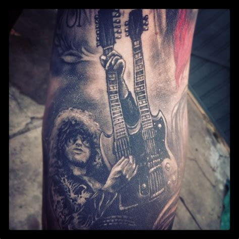 25 amazing jimmy page tattoos nsf