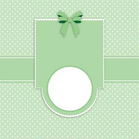 card invitation polka dots template free stock photo