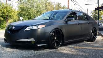 Custom Acura Tl Project Black Out Halo Efx Cover Black Dip On An Acura