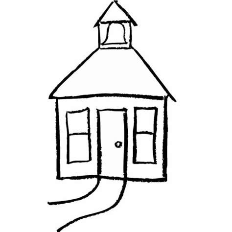 colorare casa disegno di casetta da colorare per bambini