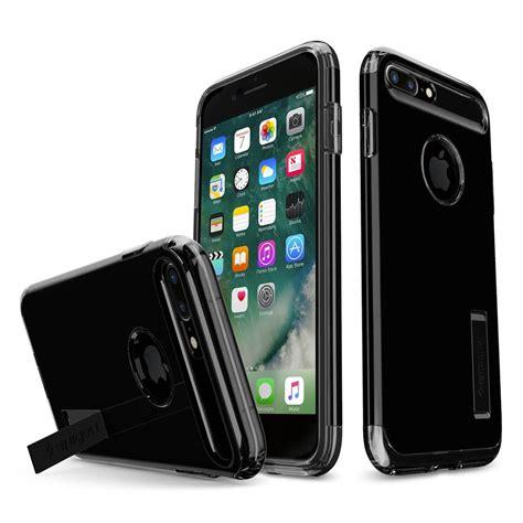 Spigen Slim Armor Iphone 7 Plus Jet Black Original Spigen 174 Slim Armor 043cs20851 Iphone 8 Plus 7 Plus