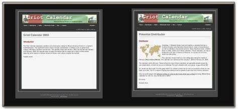 website design archives jm design solutions website design jm solutions for griot calendar