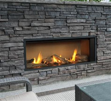 Gas Fireplace Sand by Outdoor Gas Fireplaces L1 Linear Outdoor Series Kastle