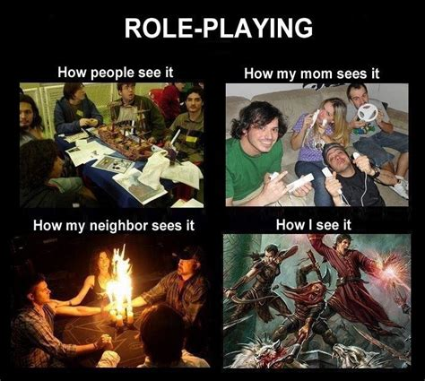 Rpg Memes - the artist who started the what people think i do what i