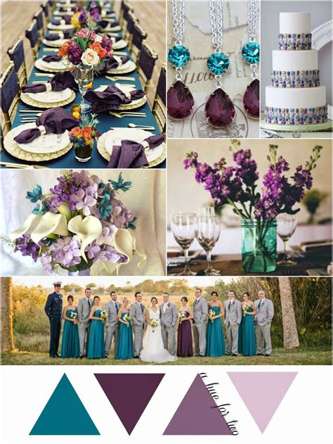 teal wedding colors best 25 eggplant wedding colors ideas on