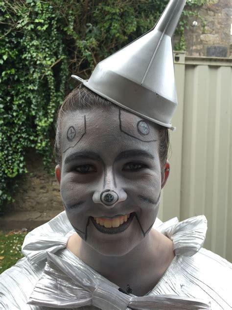 tin man wizard  oz face paint wizard  oz play