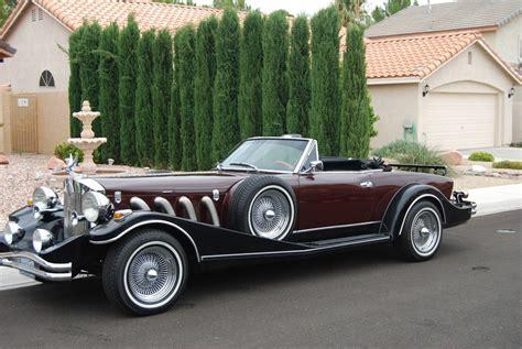 replica cars 2001 asve excalibur attention getter convertible 81 fiat