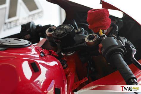 Baru Master Rem Belakang Supra Gtr 150 vlog intip honda cbr250rr tim privateer anjany racing
