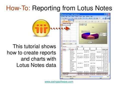 lotus notes tutorial pdf reporting from lotus notes