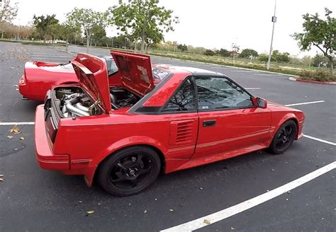 toyota mr2 1988 toyota mr2 aw11 twincharged test drive