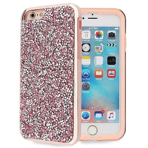 Silicon Casing Hardcase Gliter Iphone 6 Iphone 6 Plus pink bling hybrid glitter tpu protective cover for iphone 6s 6 plus ebay