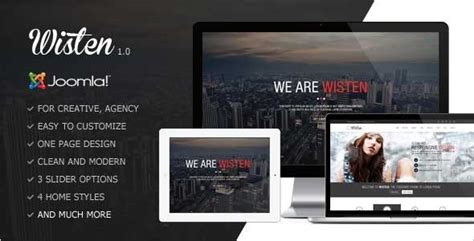template joomla one page free 18 one page parallax joomla templates free premium themes