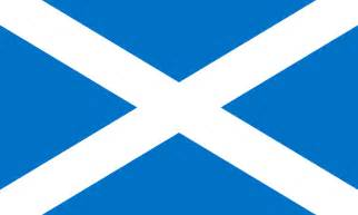 scottish colors scottish flag from the flags of the world database