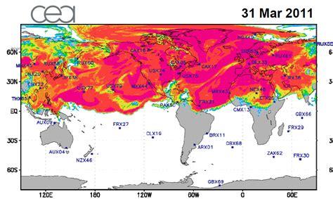 fukushima fallout usa map leadership catastrophe 2010 2012 obama the chief executor