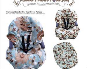 Seat Cover Sewing Pattern E Version Of The Universal Infant Car Seat Cover Pattern