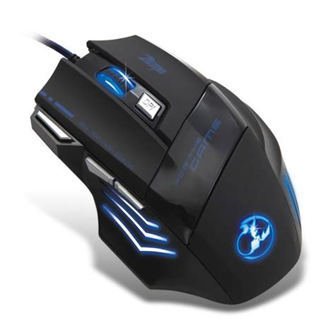 Mouse Zelotes Zelotes T 80 Wired Optical Gaming Mouse 3200 Dpi Smartystock