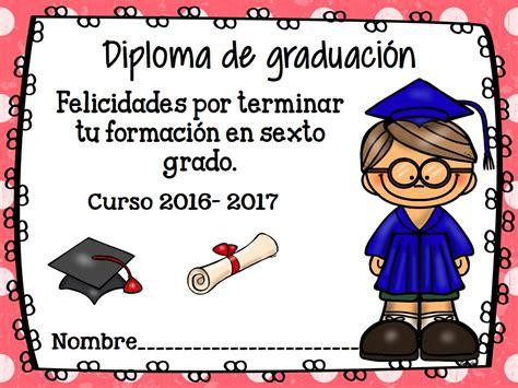 diplomas fraces fin de curso primaria diplomas de graduaci 243 n y fin de curso 2017 6 imagenes