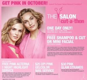 Ulta Breast Cancer Sweepstakes - free haircut for charity