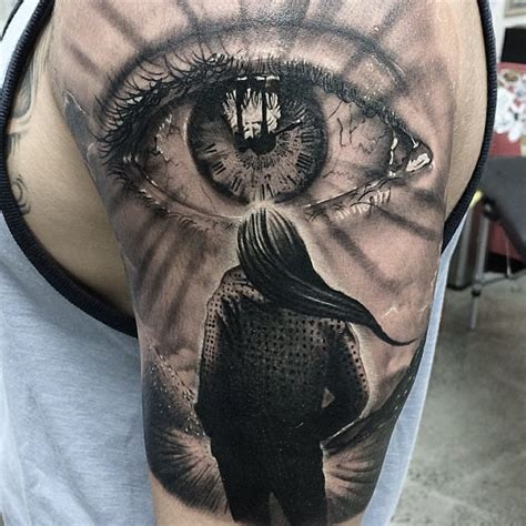 16 mind blowing realistic eye tattoos tattoodo