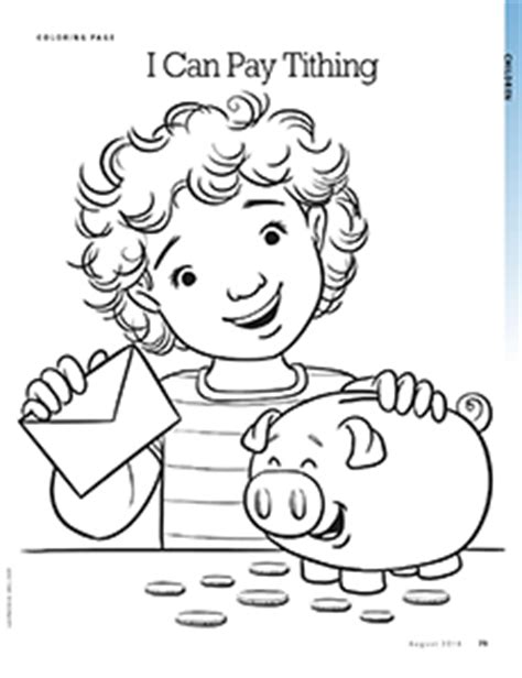 tithes and offering coloring pages coloring pages