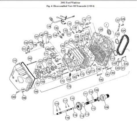 transmission control 2001 ford windstar transmission control 2001 ford windstar transmission assembly diagram a diagram of how