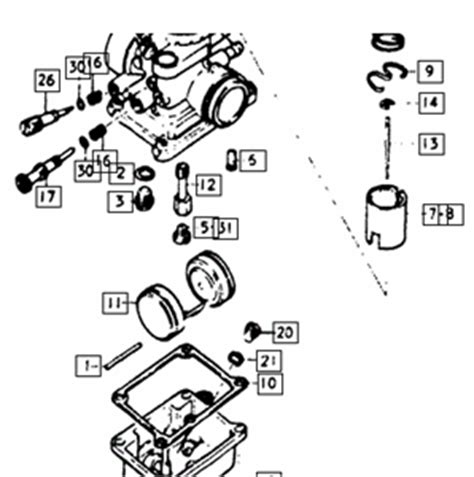 Suzuki Jr 50 Carburetor Diagram Suzuki Lt50 Wiring Diagram Car Parts Wiring Diagram