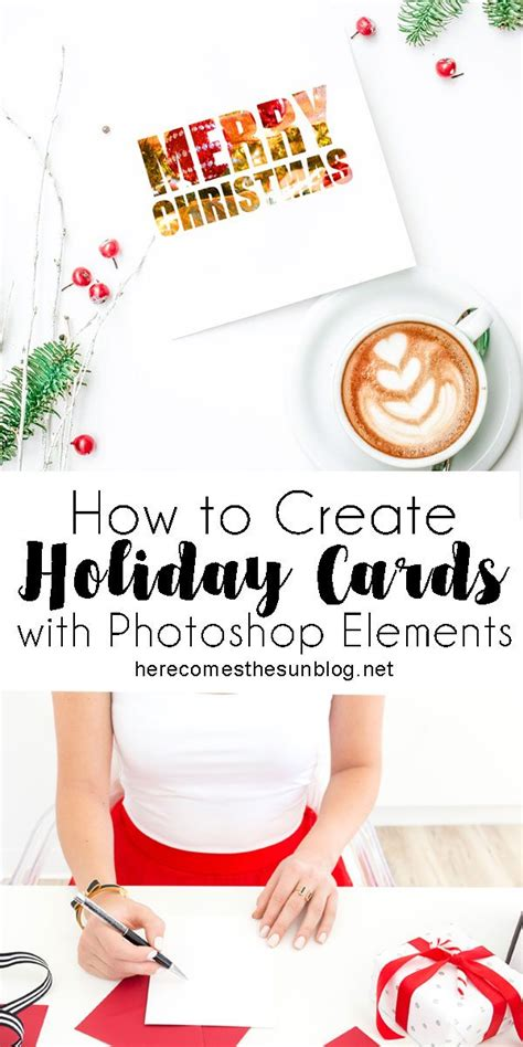 How To Make Holiday Cards In Photoshop