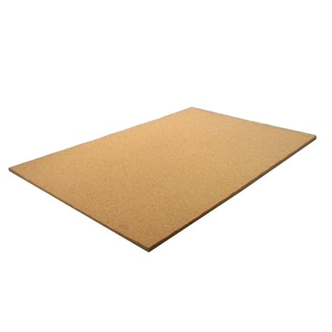3 8 in x 2 ft x 4 ft cork panel 205651 the home depot