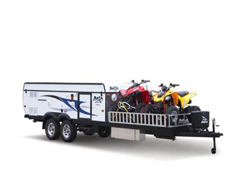 do baja boats have wood in them toy hauler type travel trailers advice from owners