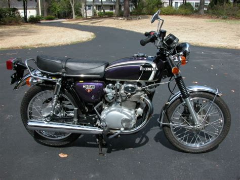 1973 honda cb350 cb 350 original low mileage motorcycle 1973 honda cb350g low mileage rideable