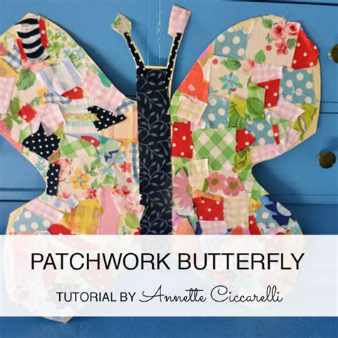 Patchwork Butterfly - my valley tutorials patterns