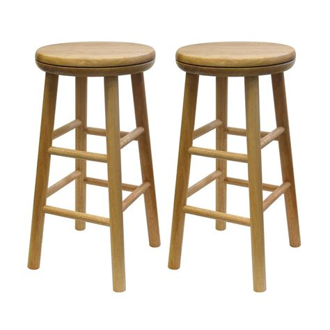 Winsome Stool by Shop Winsome Wood Set Of 2 Casual Counter Stools