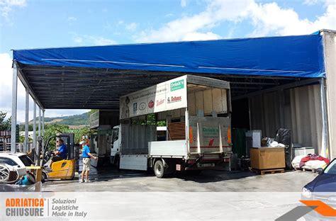 tettoie mobili tettoie mobili industriali tettoie in pvc adriatica