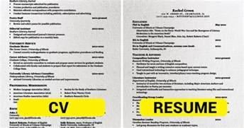 curriculum vitae vs resume australia resume example language skills