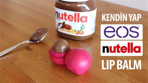 Nutella Lip Balm By Shoppasoap nutellal箟 eos lip balm yap箟m箟 199 ikolatal箟 lip balm nas箟l