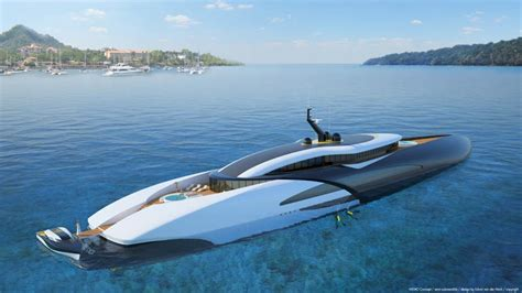 Modern House For Sale by A Hybrid Submarine Superyacht Concept Nemo