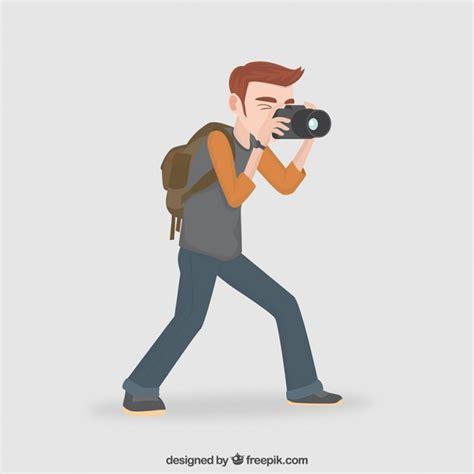 photographer clipart photographer illustration vector premium