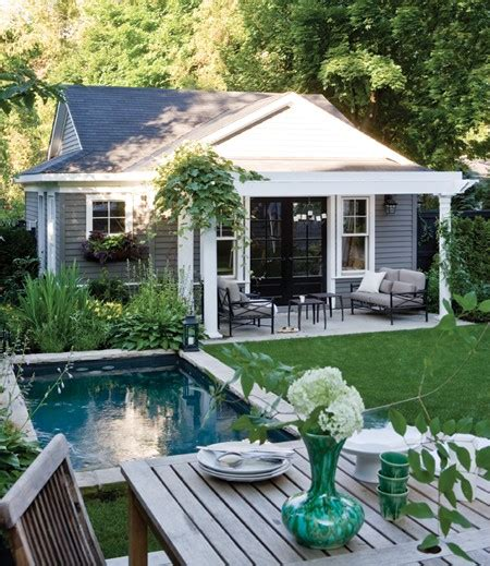 cottage style backyards bucolic backyard free house interior design ideas