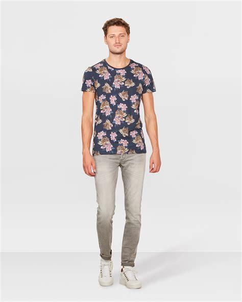 Tiger Print T Shirt heren tiger print t shirt 80242253 we fashion