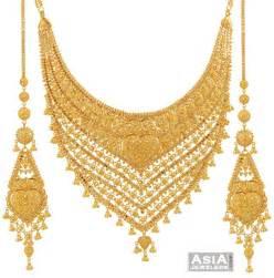 gold bridal set gold bridal necklace set