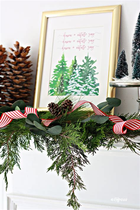christmas decorations ideas world top blogger christmas decor ideas and free printable nest of posies