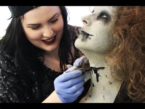 special effects makeup artist life of a special fx makeup artist youtube