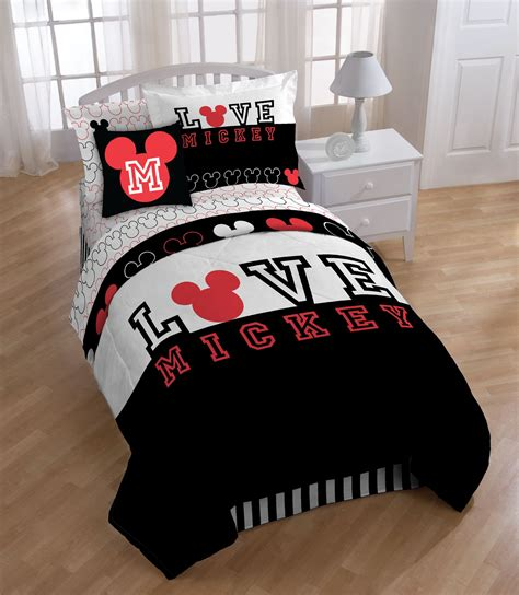 Mickey Mouse Bed Sets Disney Mickey Mouse Comforter Mini Set Home Bed Bath Bedding Sheets