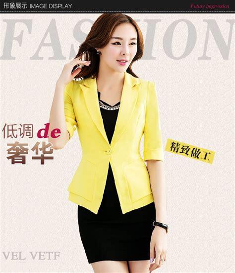Blazer Kantor Murah Blazer Kantor Jc670 Yellow Tamochi Toko Baju Wanita