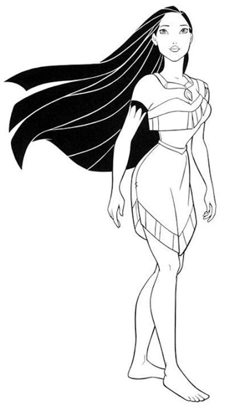 Transmissionpress Coloring Pages For Kids Disney Princess Princess Pocahontas Coloring Pages
