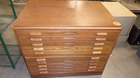 used flat file cabinets wooden file cabinets for sale