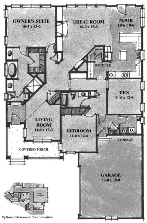 2100 square foot house plans european style house plan 2 beds 2 baths 2100 sq ft plan