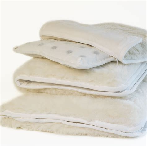 White Cloud Trading Health Boosting Wool Duvets by Magnehealth Merino Cushion Pads White Cloud