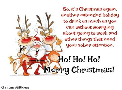 funny christmas wishes  messages