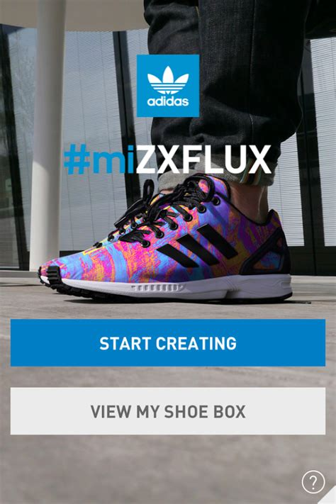 adidas mizxflux app slaps a photograph on your shoe for purchase talkandroid